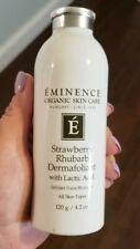 Eminence Strawberry Rhubarb Dermafoliant Enzyme Scrub Organic gently used