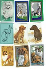 54 Different Dog Playing Card Singles Swap Cards