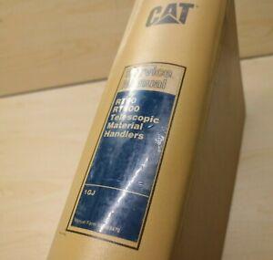 Caterpillar RT80 RT100 Forklift Repair Shop Service Manual Operator OEM CAT book