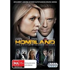 HOMELAND-Season 2-Region 4-New AND Sealed-4 Disc Set-TV Series