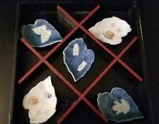 Wako Porcelains Japanese Leaf Chopstick Rests (Set of 5) (Gift-Boxed)