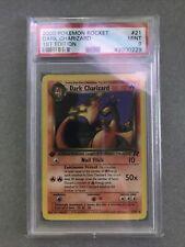 2000 Pokemon 1st Edition Team Rocket Dark Charizard Non Holo PSA 9 Mint