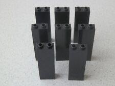 Lego 2454 # 8x Stütze 1x2x5 Schwarz 10188 4735