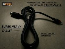 AMP CABLE * EXTRA HEAVY *FOR KENWOOD TS-590 SG  Only. FAST **FREE SHIPPING!**