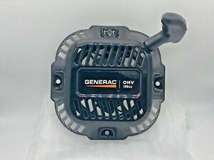 GENERAC Starter Recoil Assembly 0J08070SRV 196CC GENUINE, OEM NEW RECOIL