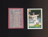 1991 Topps Glow Card Back UV Variant Error Card #270 Mark McGwire Lot of 2
