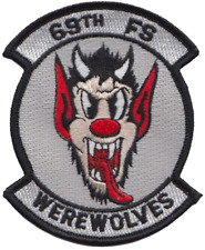 69th Fighter Squadron 69 FS United States Air Force USAF Embroidered Patch
