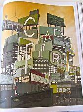 Arcade Fire Poster Mini-Concert Reprint for 2010 Mexico Tour   14x10  No 2