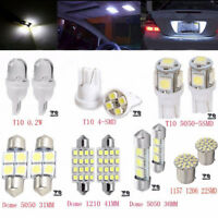 14PCS White LED Interior Package Kit For T10 36mm Map Dome License Plate Bulb  I
