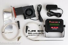 FLAME BOSS Q Controller BBQ smoker pit trailmaster offset oklahoma brinkmann