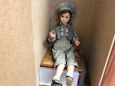 Vera Scholz Porzellan Puppe 70 cm. Top Zustand