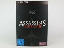 ASSASSIN'S CREED II 2 BLACK EDITION 100% UNCUT PS3 Playstation 3 *TOP*