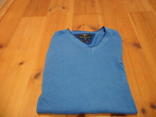FYNCH HATTON Pullover Superior Cotton  blau Gr. L