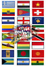 Country Flags for jacket jeans clothes Iron on or Sew on Embroidered Patches