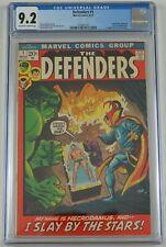 Defenders #1 CGC 9.2 - marvel comics 1972 - hulk doctor strange - 1st necrodamus