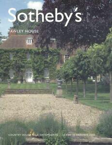 Sotheby's Catalogue,  FAWLEY HOUSE 2003