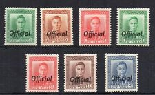 New Zealand 1938-51 OFFICIAL set to 3d MLH/MH