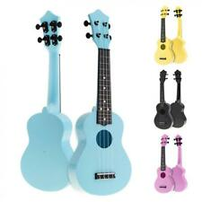 More details for 21'' soprano ukulele colorful acoustic 4 strings hawaii guitar for kids beginner