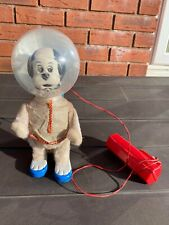 Yone Japan Battery Operated Astro Space Dog - Nice Working Model Rare