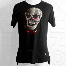 VIVIENNE WESTWOOD MAN JAPAN CHEST 40 TOO FAST TO LIVE T-SHIRT COTTON skull w orb