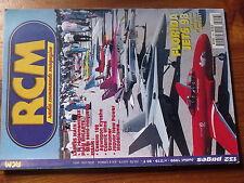 $$w Revue RCM N°219 Plan encarte SE5a  Cessna 188  Cosmic Wind  Jaguar New Power