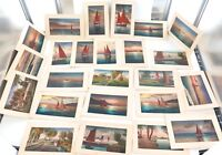 .EARLY 1900s SUPERB LOT 25 HIGH QUALITY LITHOGRAPH POSTCARDS. UNKNOWN SERIES.