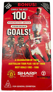Simply the Best 100 Manchester United premiership goalsVHS Video Cassette