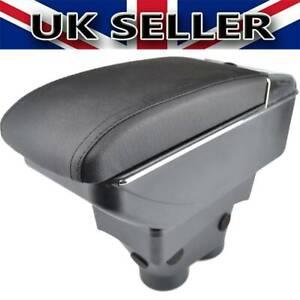 UK Armrest For Peugeot 208 2013-2018 Duel Central Console Storage Compartment