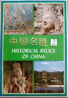 Postcard Packet Historic Relics of CHINA 10 Postcards