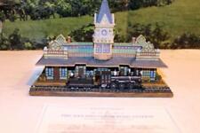 Danbury Mint- Historic Railroad Stations- San Diego Station - Boxed- W62