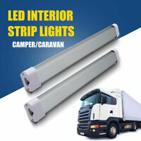 Universal LED Interior Strip Super Bright Light Bar Lamp For Car Van Bus Caravan