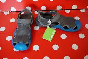 new Crocs Mens Swiftwater Flat Sandal US 13 EU 48/49 men relaxed fit