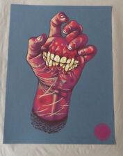 John Baizley Hand2Mouth Steel Grey xx/31 Screen Print Poster Baroness