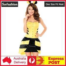 Sexy Women Flirty Bumble Bee Fancy Dress Costume Set One Size Fit Most #8650