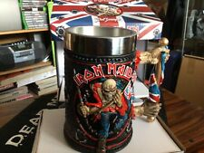 More details for iron maiden the trooper tankard ,new and boxed