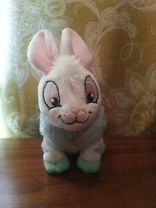 Neopets 2007 Striped Cybunny Bunny Rabbit Jakks Stuffed Plush Plushie EUC