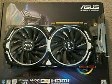 MSI Computer GTX 1080 ARMOR 8G OC NVIDIA Geforce Video Card