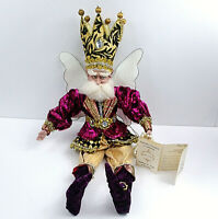 """Rare Mark Roberts Limited Edition Bling Bling Fairy Large 24"""" - COA -51-02404"""