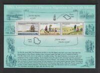 NI295) Norfolk Island 1981 Anniv. Pitcairn to Norfolk Migration Minisheet MUH