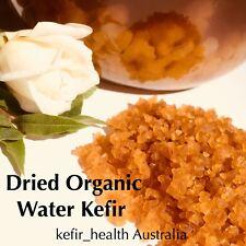 Organic Premium Quality DEHYDRATED WATER KEFIR GRAINS (BEST PRICE on EBAY!!!)