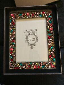 Olivia Riegel 5x7 Dominique Jeweled Picture Frame