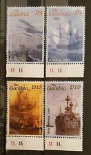 C16.Briefmarken Schiffe 2001 Gambia,postfrisch