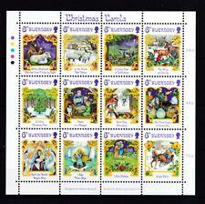 Guernsey1986 postfrisch Zd-Bogen MiNr. 373-384 Weihnachtslieder