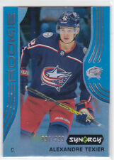 19/20 SYNERGY...ALEXANDRE TEXIER...BLUE PARALLEL.../399...# 79...BLUE JACKETS