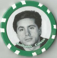 """ANOTHONY CASSO """"GASPIPE"""" GANGSTER COLLECTOR CHIP"""