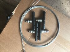 MTB/Hybrid V brake pads and cables, brake service kit, fibrax jagwire
