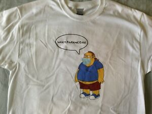 Simpsons Comic Book Guy T-SHIRT Worst Pandemic Ever!