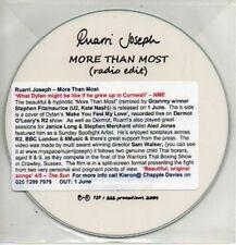 (AB120) Ruarri Joseph, More Than Most - DJ CD