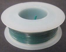 24 Gauge SOLID Hookup Wire 25 Foot Spool Green