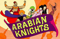 ARABIAN KNIGHTS FRIDGE MAGNET - RETRO TV CLASSIC!  from the Banana Splits show!